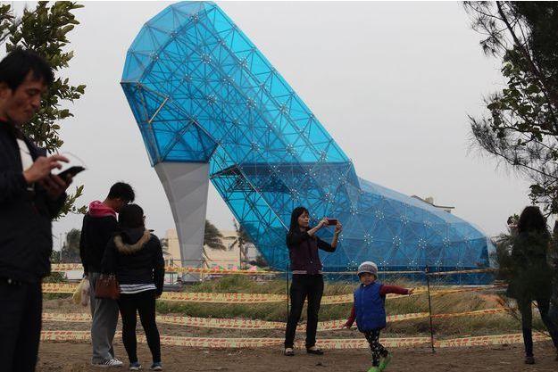 L'église chaussure bientôt inaugurée à Taïwan.