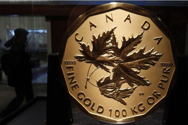 Un employé de la Monnaie royale canadienne est soupçonné d'avoir volé de l'or.
