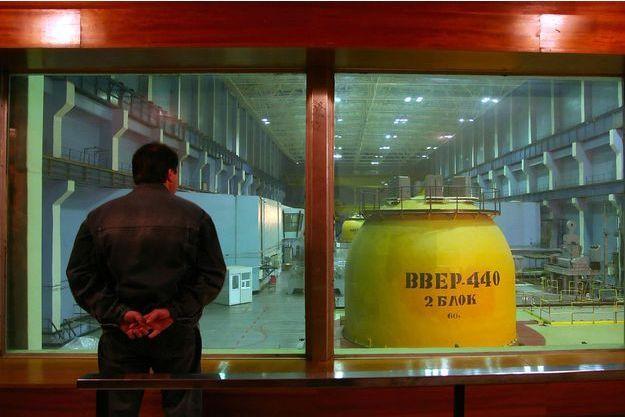 Un réacteur de la centrale de Kozlodoui, en Bulgarie