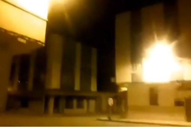 Une image tirée d'une vidéo d'un son étrange entendu dans plusieurs grandes villes du Maroc.
