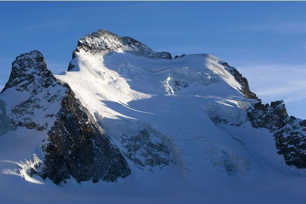 Une montagne dans les Alpes (image d'illustration).