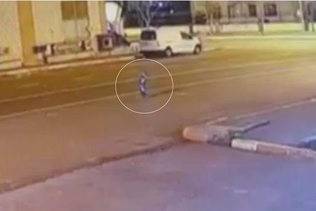 Une image extraite de la vidéo tournée à Diyarbakir
