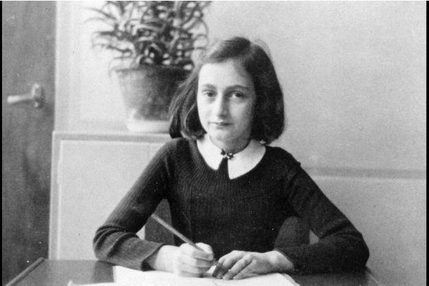 Anne Frank, auteure du Journal d'Anne Frank.