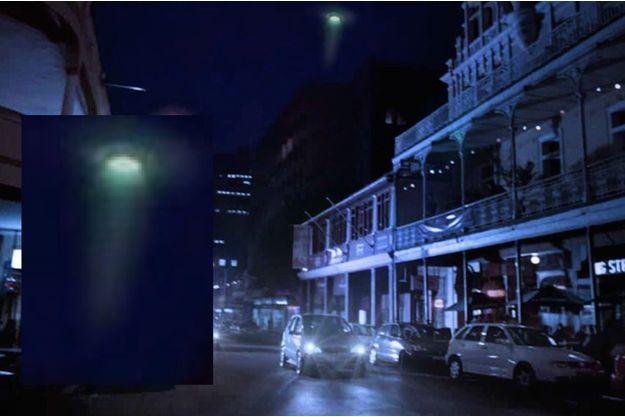 La mystérieuse lumière verte vue au Cap le 28 novembre.