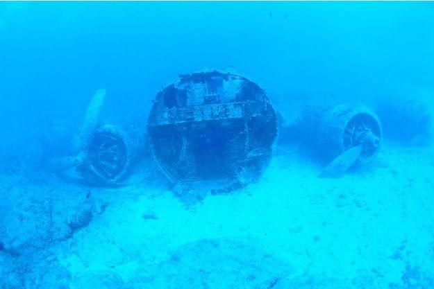 Une épave de B-17 retrouvée en Méditerranée.