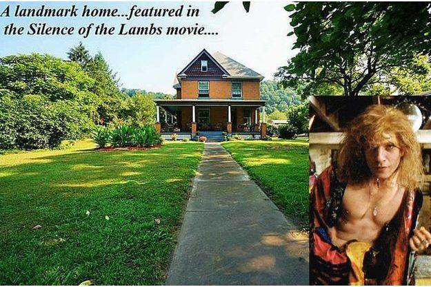 James «Buffalo Bill» Gumb devant sa demeure.