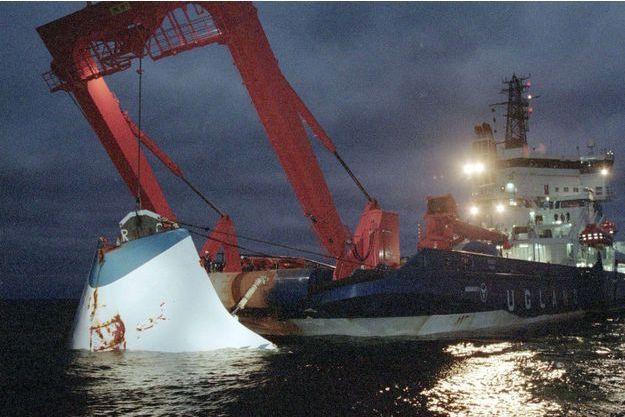 Le naufrage de l'Estonia, en 1994.