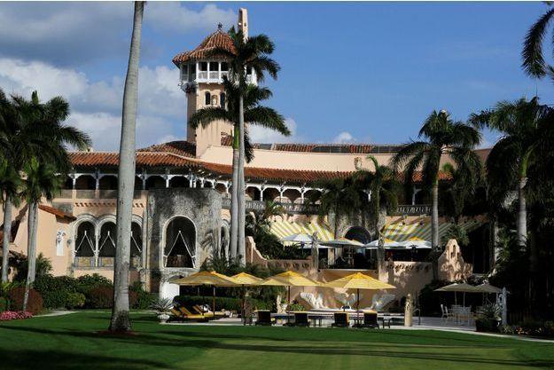 Mar-a-Lago, l'hôtel de Palm Beach propriété de Donald Trump.