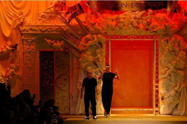 Stefano Gabbana et Domenico Dolce.