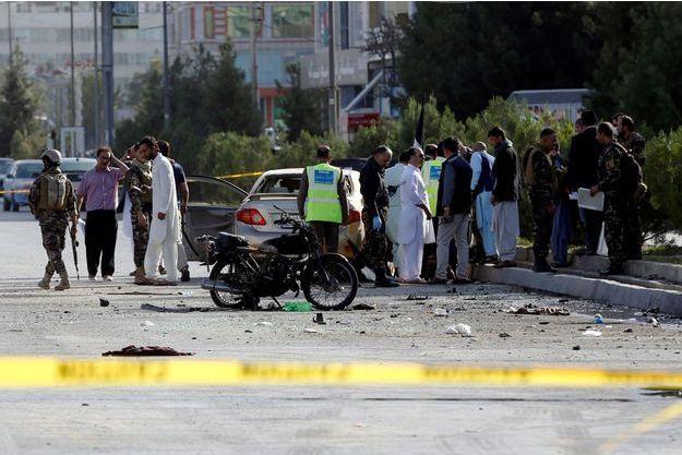 Une attaque en Afghanistan le 9 septembre dernier. Image d'illustration.