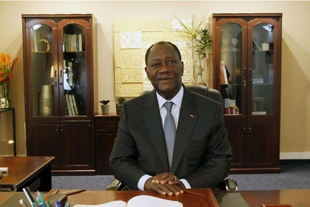 Alassane Ouattara.