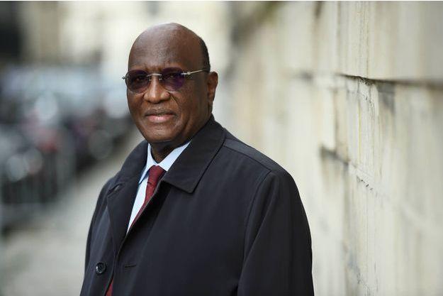 Le Président de la Coalition pour l'alternative pour 2016 (COPA2016) Amadou Boubacar Cissé ici à Paris le 29 octobre 2015