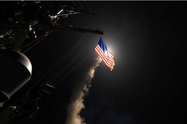 Les frappes américaines ont visé la Syrie vendredi.