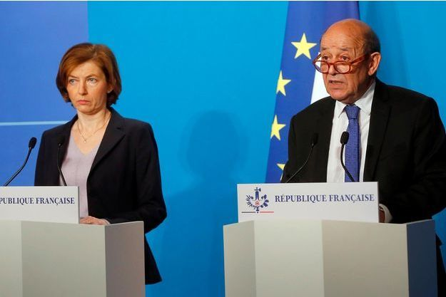 Florence Parly, Jean-Yves Le Drian