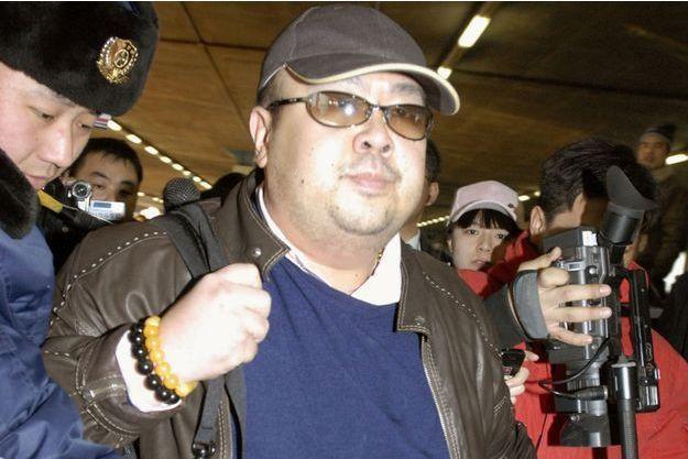 Kim Jong-nam, photographié en février 2007.