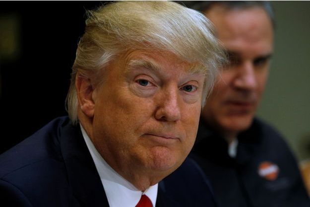 Donald Trump à la Maison Blanche, le 2 février 2017.