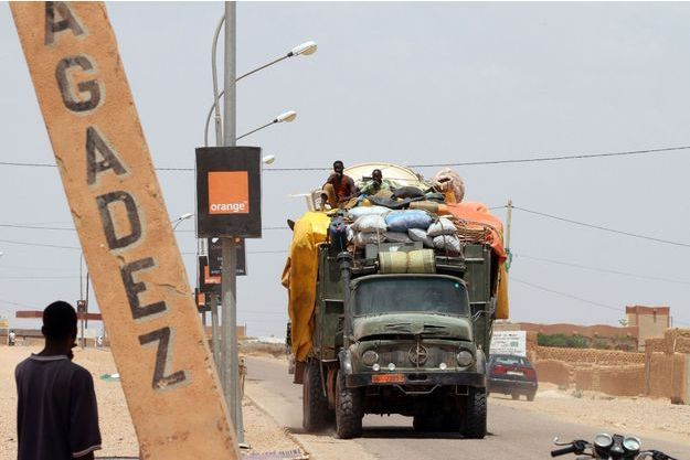 Agadez, au Niger, en 2011. (Photo d'illustration)