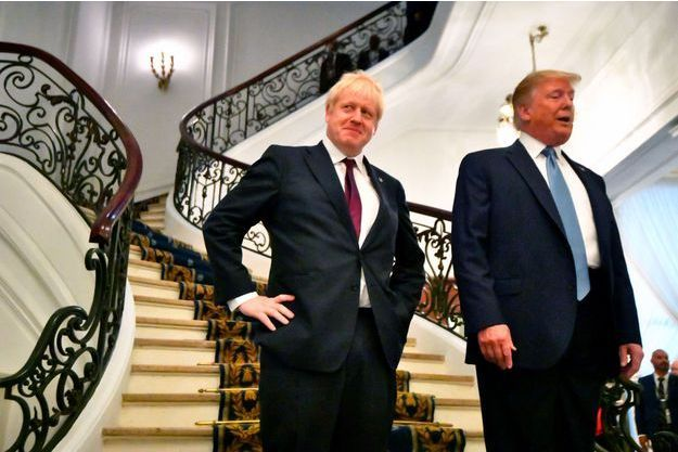 Au G7, Donald Trump a un nouvel ami : Boris Johnson