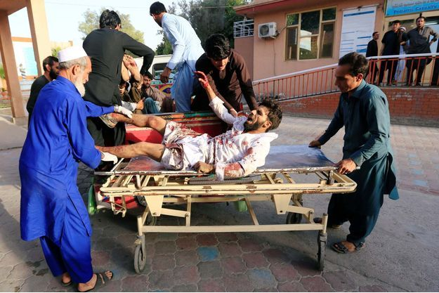 L'attentat a frappé les civils de Jalalabad, dans l'est de l'Afghanistan.