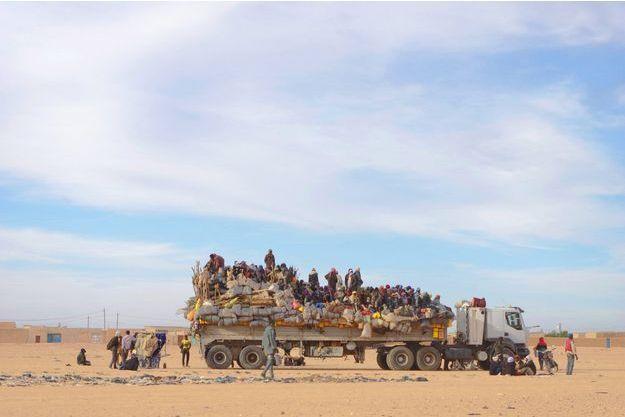 Convoi de migrants au Niger (photo d'illustration)