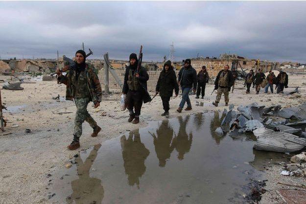 Les combats font rage en Syrie.