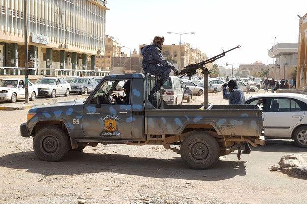 Forces libyennes, à Sebha