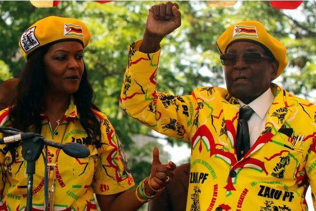 Grace Mugabe, Robert Mugabe