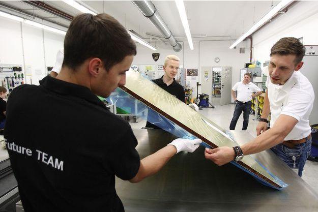 En 2013, dans une usine de FACC à Ried-im-Innkreis.