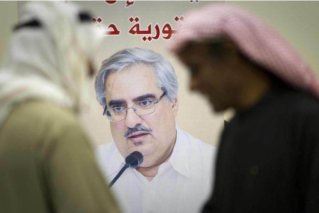 Ibrahim Charif, un éminent dissident à Bahreïn.