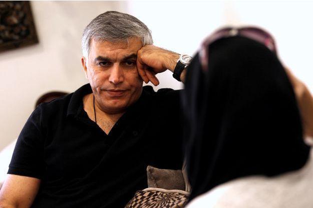 Le militant bahreïni Nabeel Rajab.