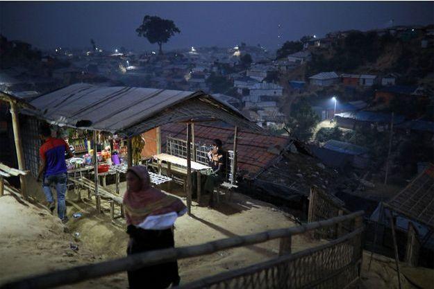 Un camp de Rohingyas au Bangladesh.