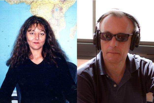 Ghislaine Dupont et Claude Verlon.