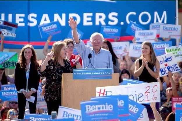 Bernie Sanders dans le Colorado le 10 octobre.