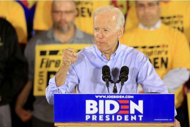 Joe Biden lance sa campagne aux Etats-Unis.