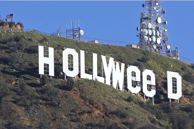 Les fameuses lettres blanches sur les collines de Los Angeles.