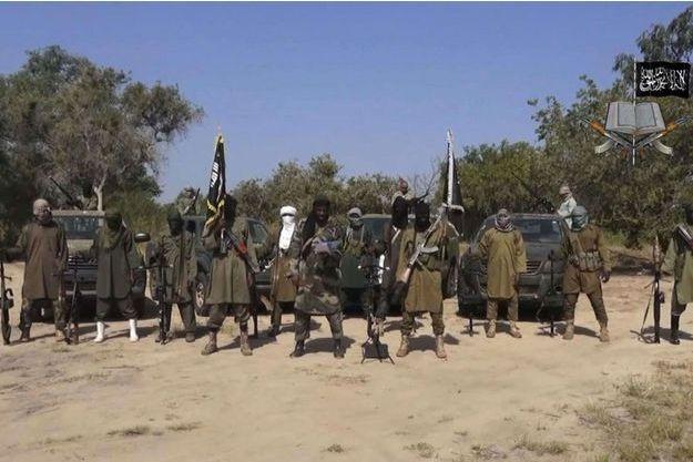 Capture d'écran d'une vidéo diffusée par Abubakar Shekau en octobre dernier. (Illustration)