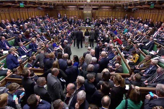 Le Parlement anglais jeudi 14 mars 2019.