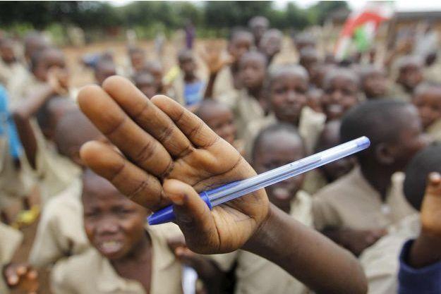 des élèves de Bujumbura au Burundi