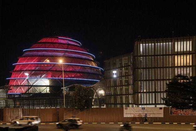 Une vue du Kigali convention centre où le philanthrope Mo Ibrahim a orchestré son brillant Governance weekend du 27 au 29 avril 2018