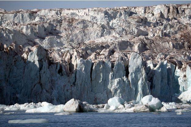 Le glacier de Wahlenberg, en Norvège.