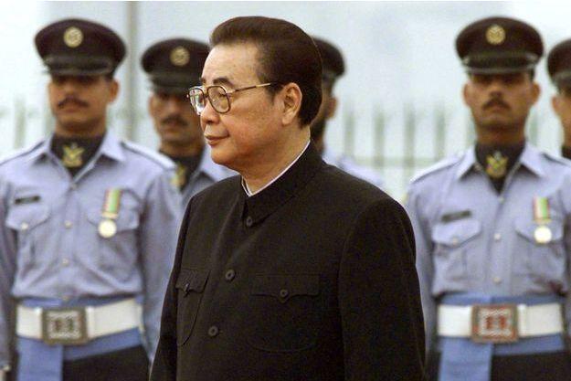 Li Peng en 1999.