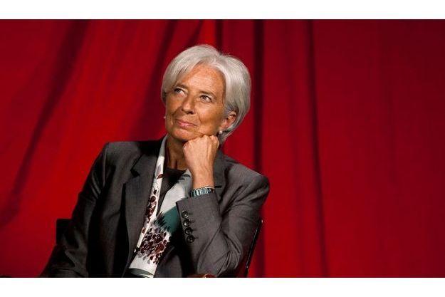 Christine Lagarde à la Harvard Kennedy School le 23 mai.