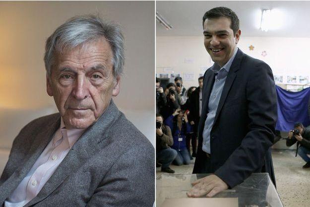Costa Gavras et Alexis Tsipras