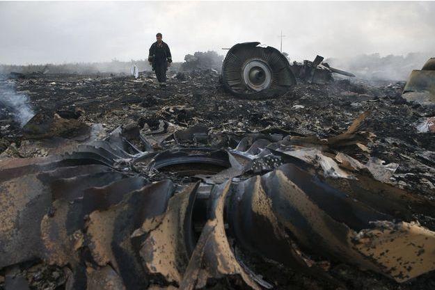 Le crash du MH17 avait tué 298 personnes.