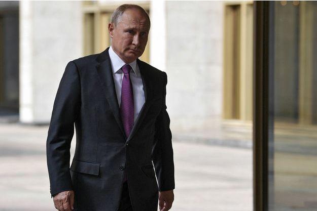 Vladimir Poutine à Moscou en septembre 2018.