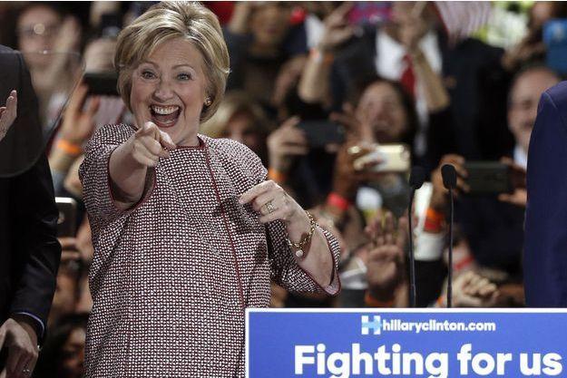 Hillary Clinton a gagné à New York