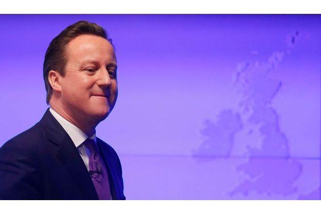 David Cameron lors de son grand discours sur l'UE.