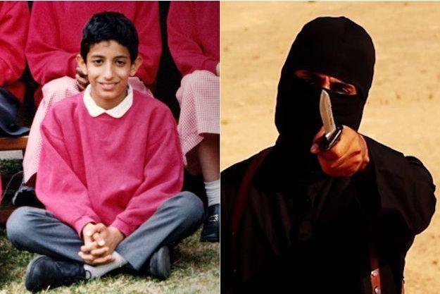 Mohammed Emwazi enfant, puis devenu le bourreau de Daech.