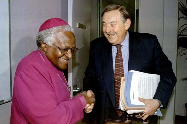 Pik Botha et Desmond Tutu.