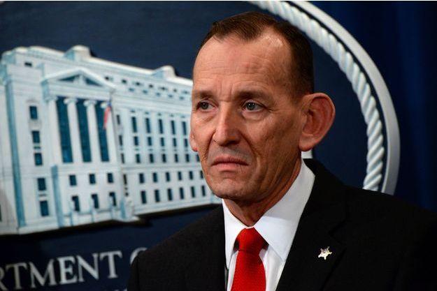 Randolph Alles, patron du Secret Service sur le départ, le 7 mars dernier.